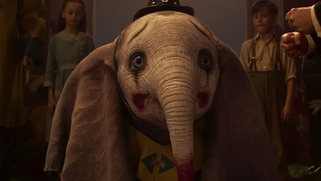 The First Trailer For Disney's Live Action 'Dumbo' Is Here!