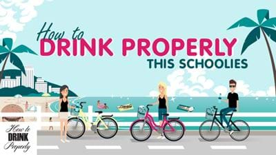 Drinkwise this Schoolies!