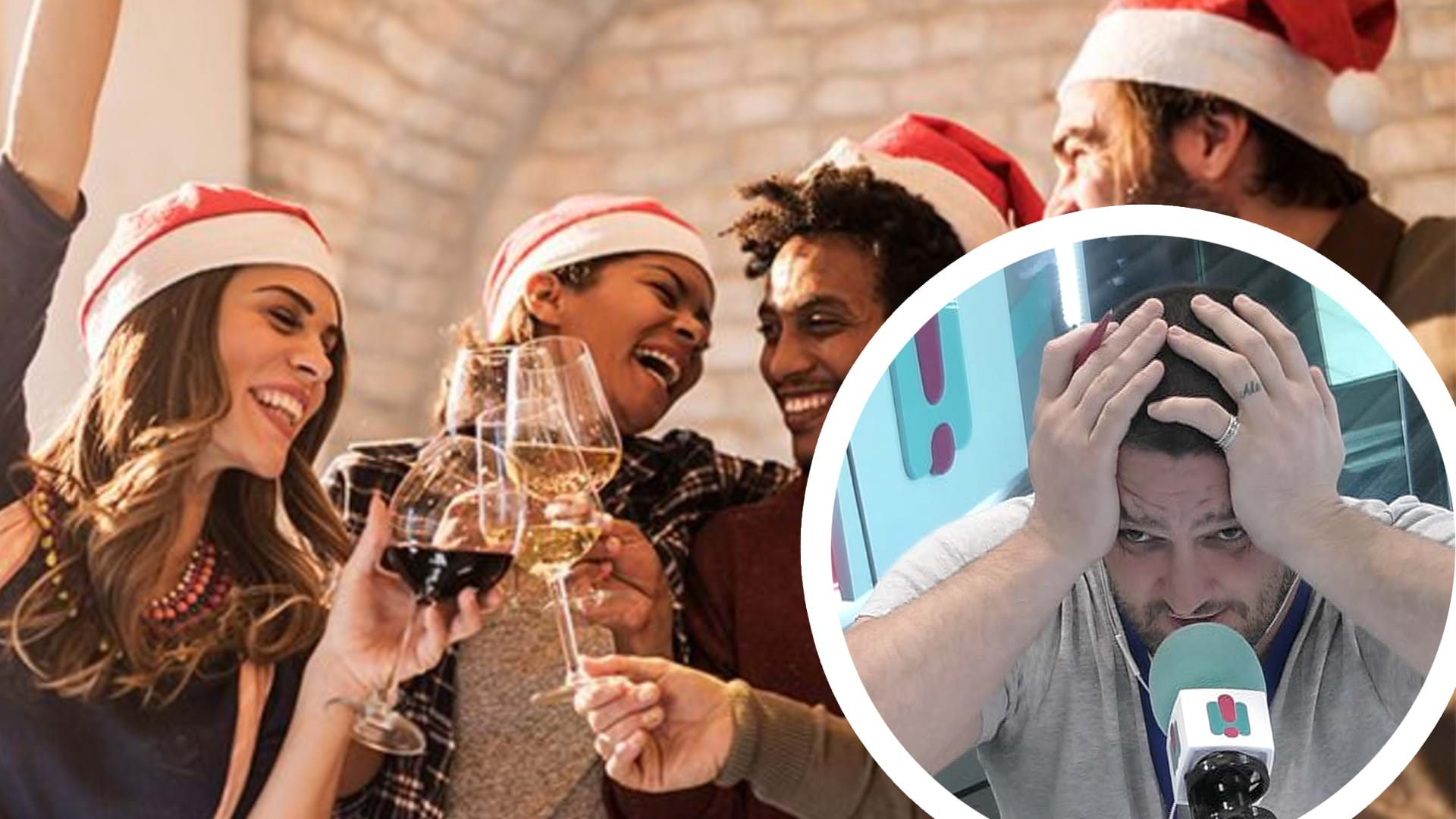 Article heading image for When Work Christmas Party Hook Ups Turn Into Having A Family! Hilarious Calls Came Through On Fifi, Fev And Byron
