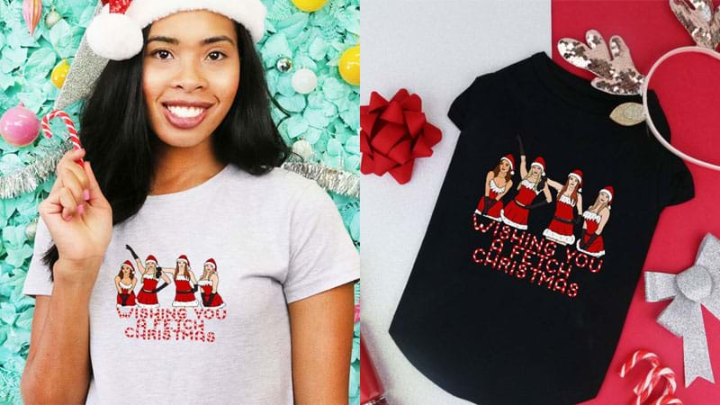 Article heading image for Matching Christmas Tees For You & Your Pet Are The Pawfect Gift!