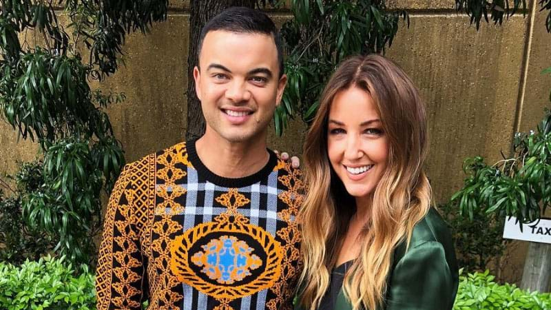Article heading image for Guy Sebastian Prank Called His Wife Jules On Air, But A Random Guy Answered Instead