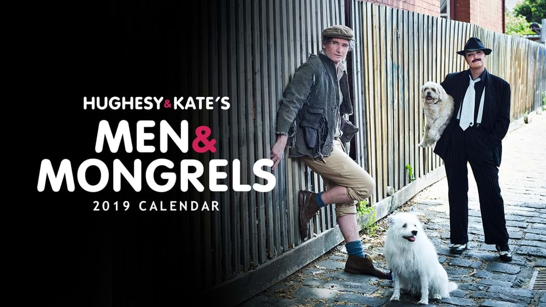 See the Pictures from Our 2019 Men and Mongrels Calendar!