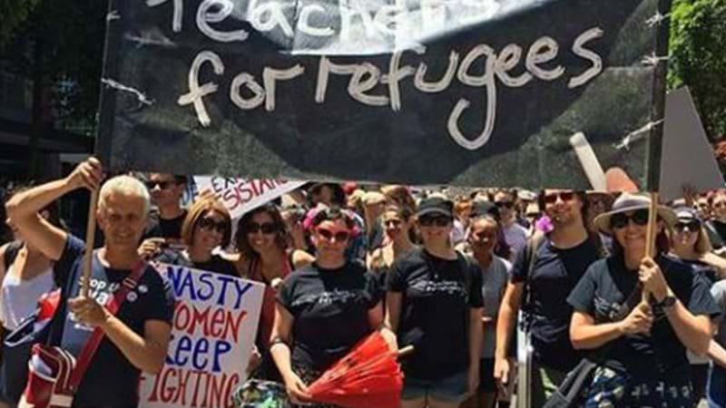 Article heading image for Hundreds Of Teachers Are Striking To Protest Kids On Nauru