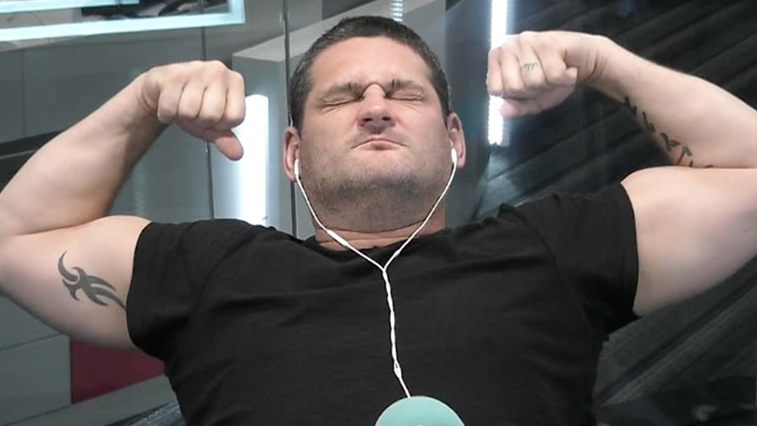 Fev Reveals An Item In His House That Inspires Him To Keep In Shape!