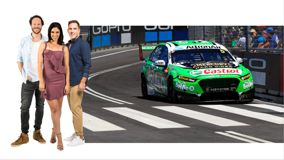 Mark Winterbottom chats about the Newcastle 500 track