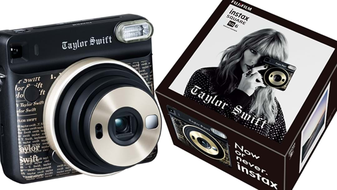 A Taylor Swift FUJIFILM instax Experience Is Coming To Westfield Bondi Junction