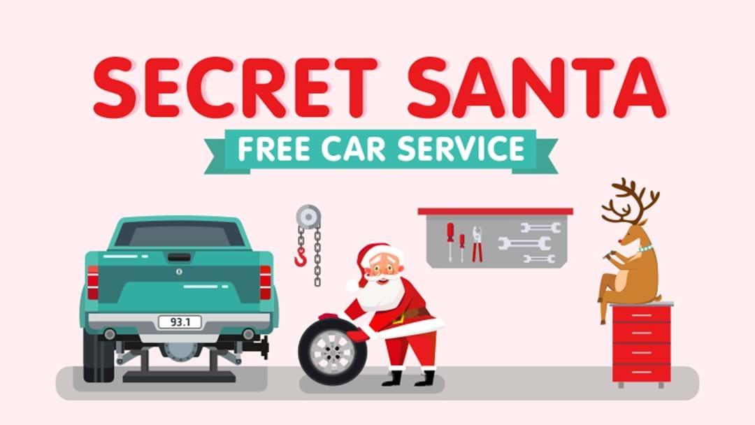 Secret Santa Free Car Service