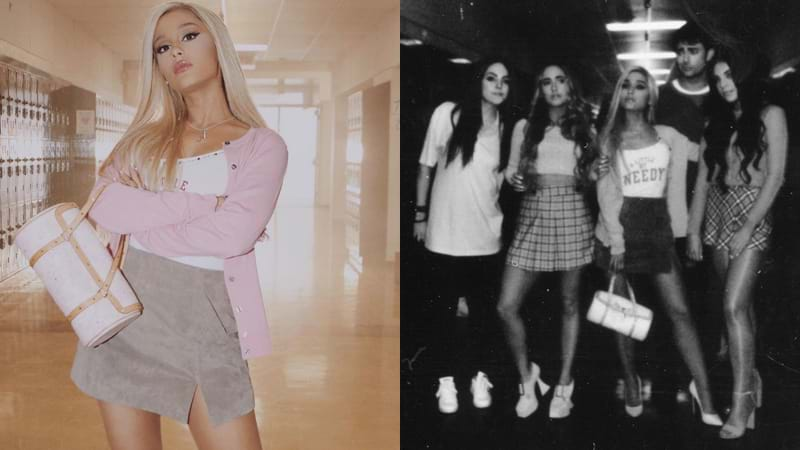 Ariana Grande Unveils 'Mean Girls'-Inspired