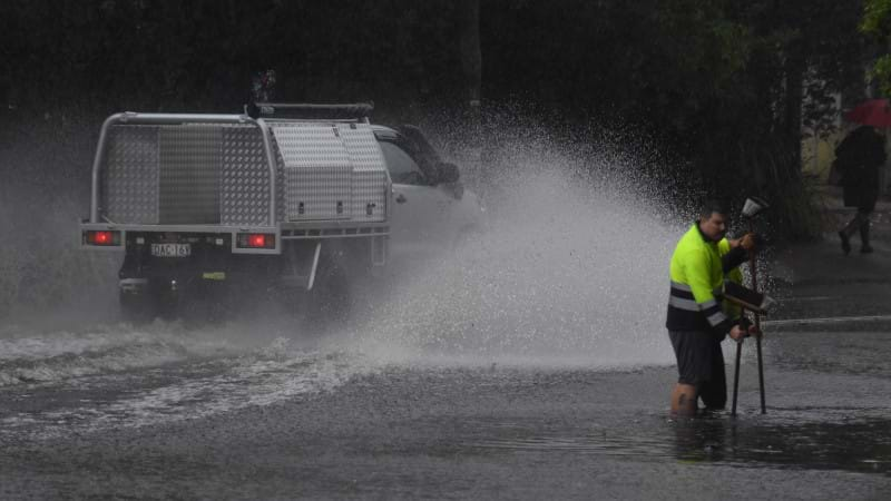 Sydney Streets Turn Into Rivers As Australia Storm Causes Chaos