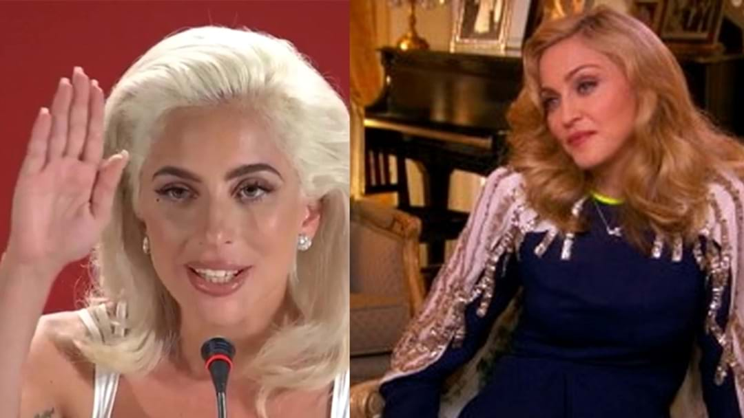 "Did Lady Gaga Steal Her ""100 People In A Room"" Quote From Madonna??"
