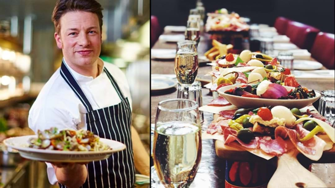 Jamie's Italian Will Be Hosting A Free Christmas Day Lunch For Families Doing It Tough