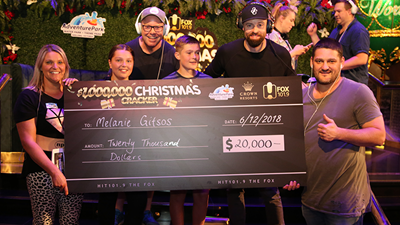 Fifi, Fev & Byron's EPIC Million Dollar Christmas Cracker Event