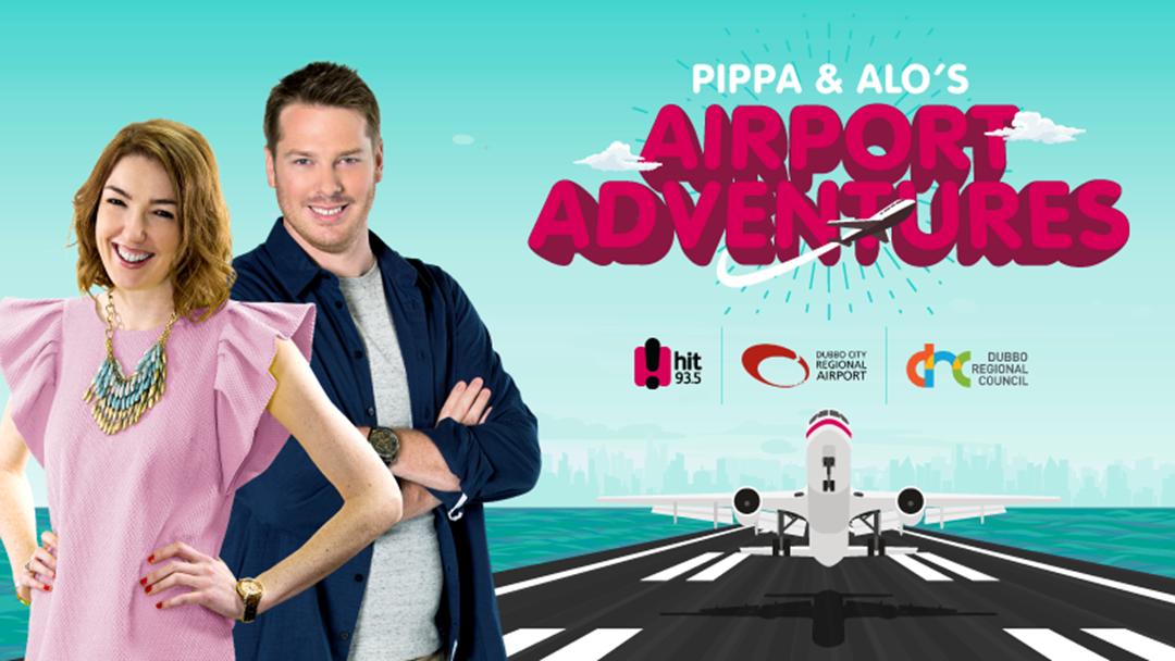 Pippa & Alo's Airport Adventures