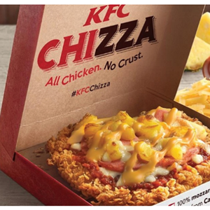 Introducing The 'Chizza' - A KFC Pizza!