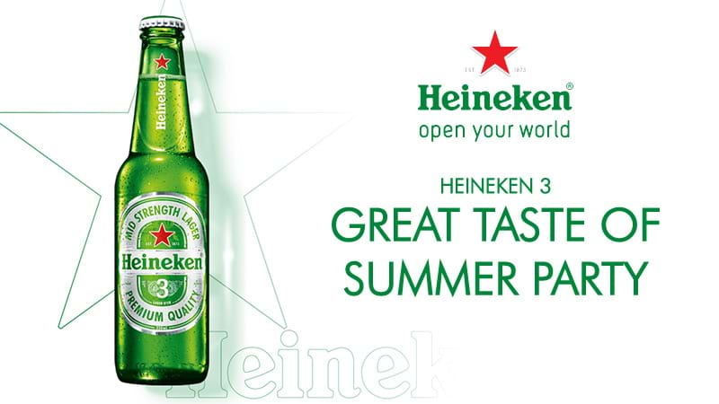 Heineken 3 End of Summer Party