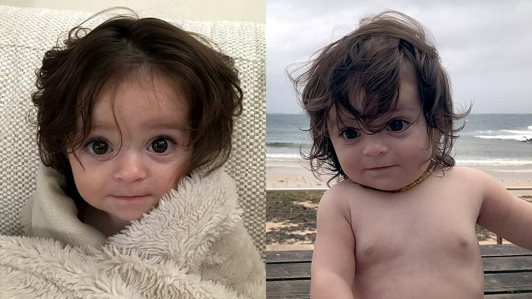 This 6-Month-Old Bub Was Born W/ So Much Hair & OMG We Want To Plait It