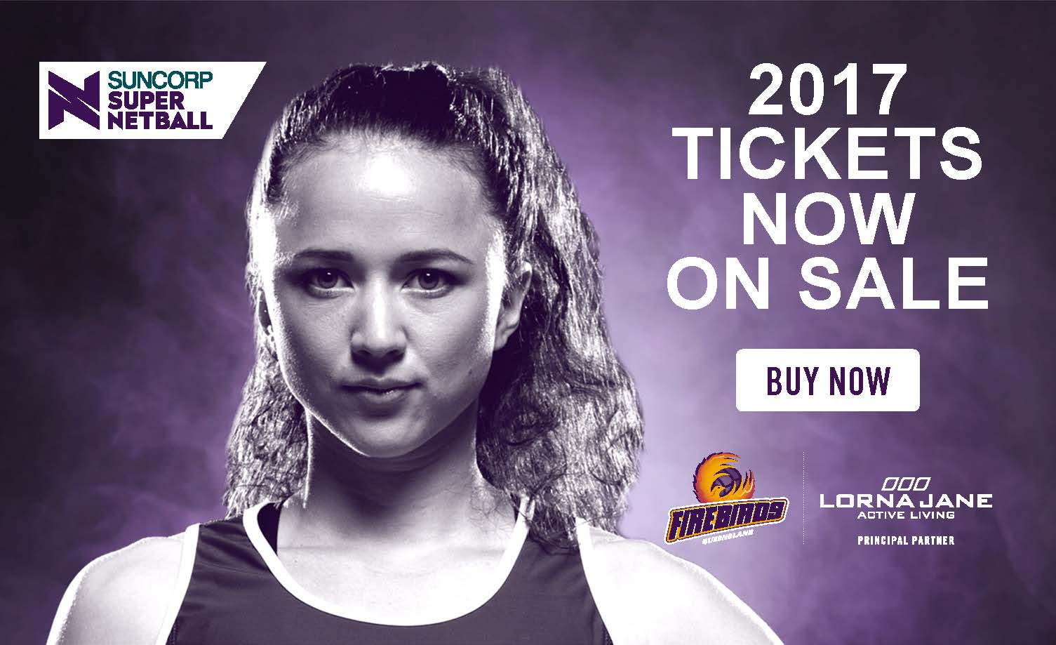 Score tickets to see the Lorna Jane QLD Firebirds!