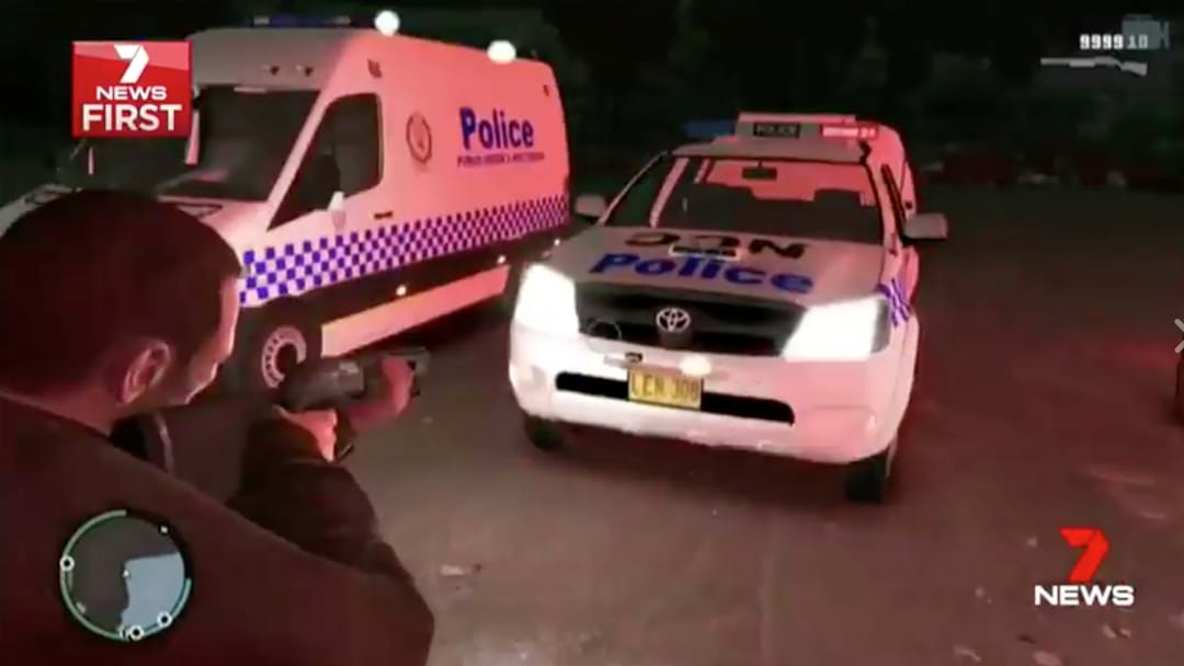 NSW Police Are Really Mad That They've Been Modded Into Grand Theft Auto