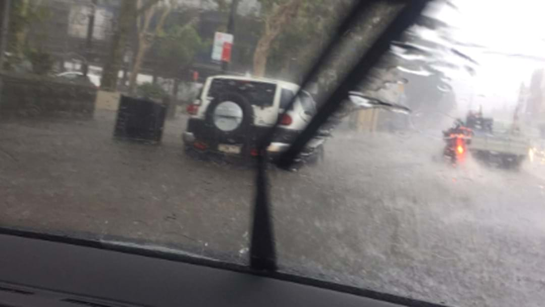 WARNING: Multiple Fast-Moving Storms Sweeping Sydney