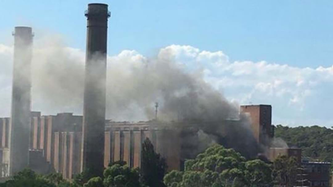 Vandals Set Wangi Power Station On Fire