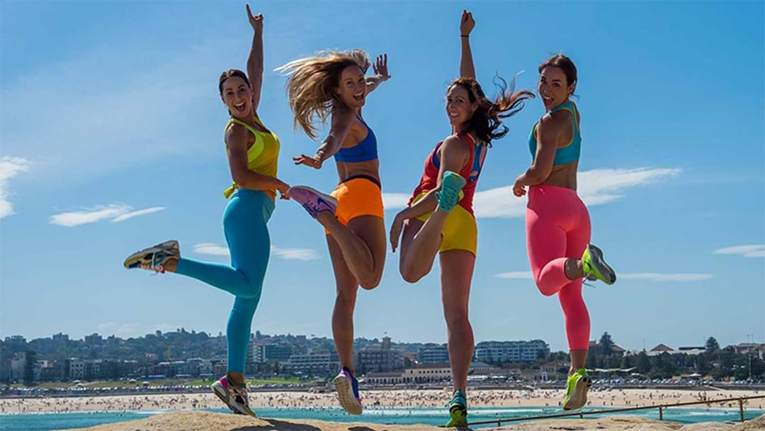 BUF Girls 5-Minute Energy Boosting Workout