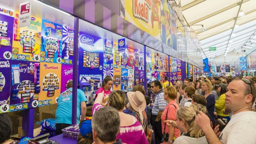 TOP FIVE SHOWBAGS AT THE CANBERRA SHOW