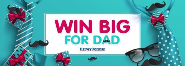 CLICK HERE to win the feature gifts for Dad!