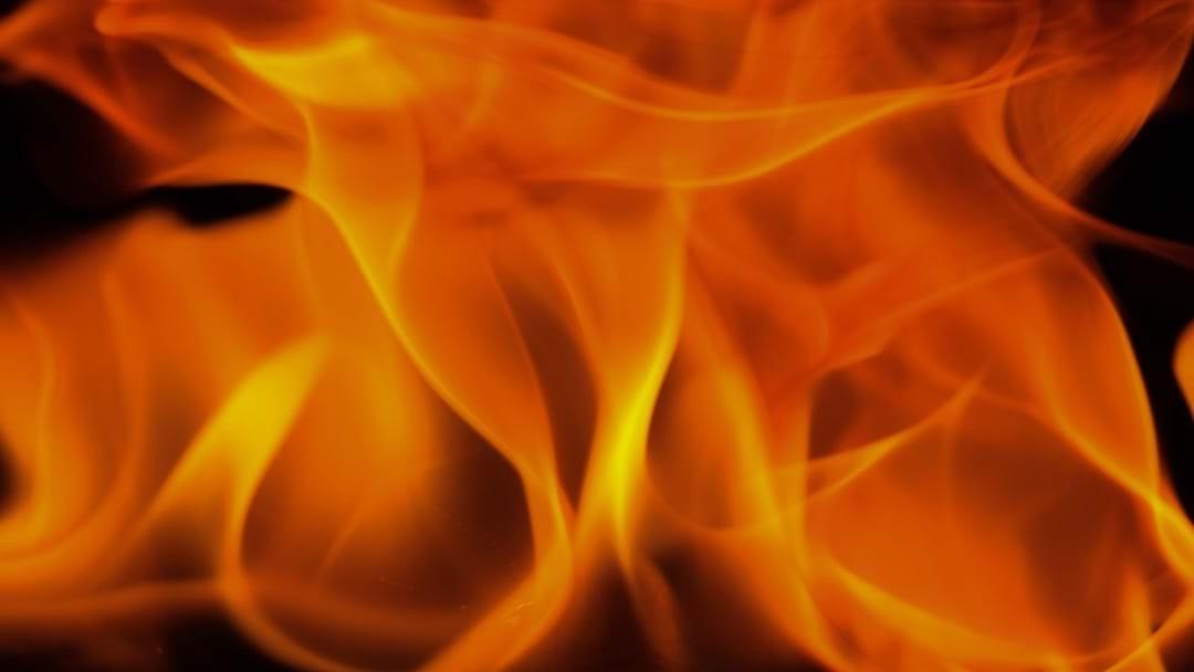 Garage fire in Upper Coomera