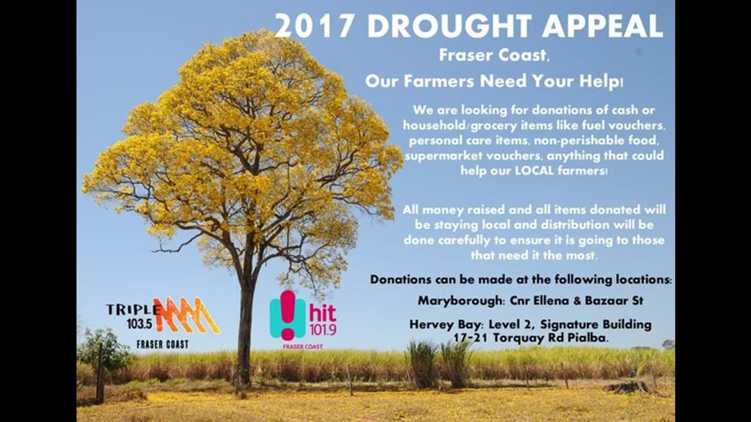 Fraser Coast Drought Appeal