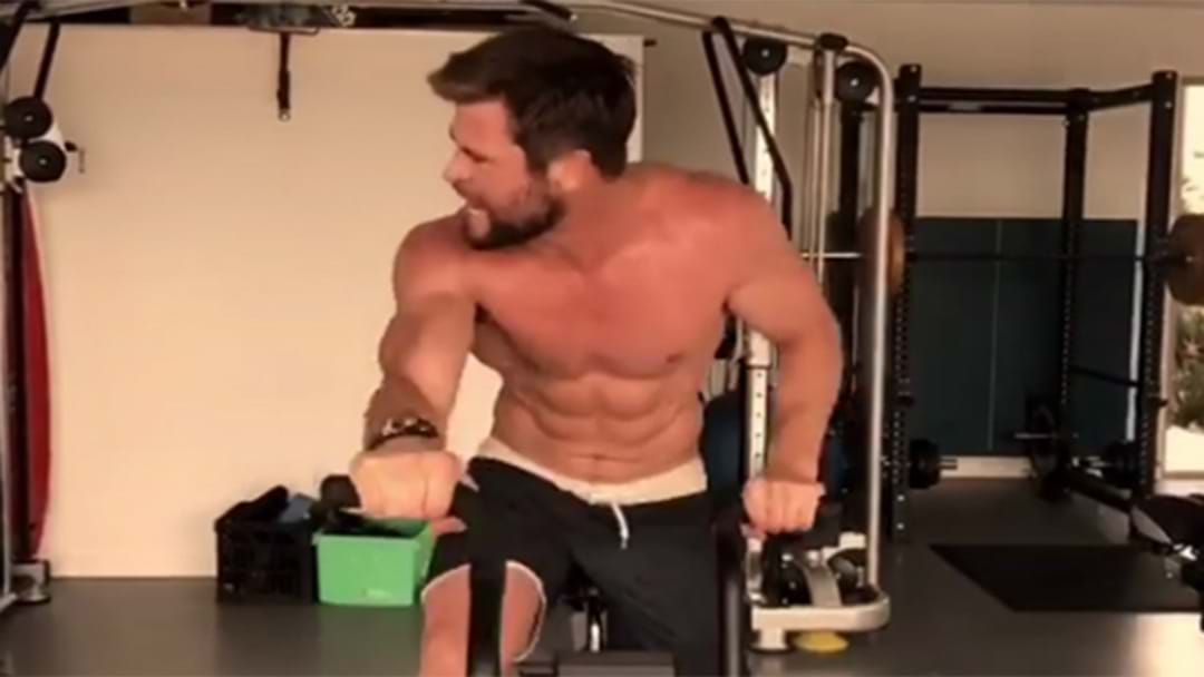 WATCH: Thor's Workout Revealed
