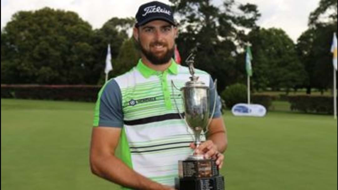 New Zealand's Daniel Pearce Wins 2017 Coca-Cola QLD PGA Championship
