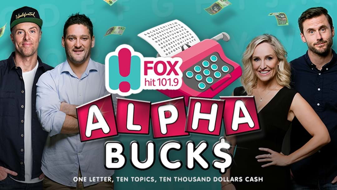 Your chance to WIN $10,000! It's as easy as ABC!