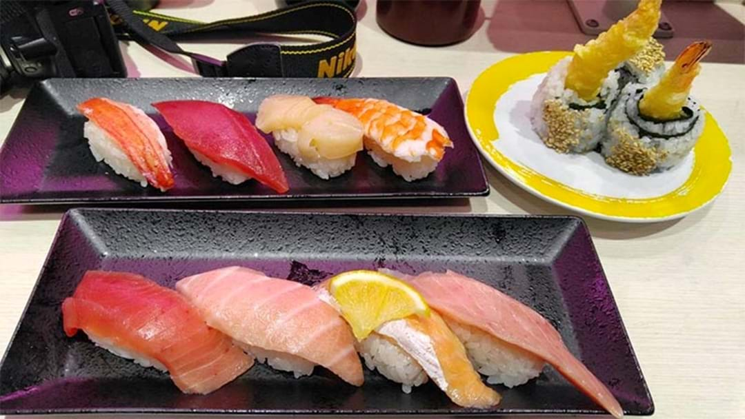 SUSHI LOVERS: Tokyo's Iconic 'Genki Sushi' Is Opening In Sydney!